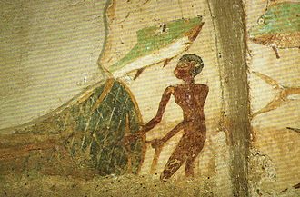 Ankhtifi - Another fishing scene from the tomb of Ankhtifi.