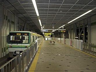 Tomizawa Station - The platforms