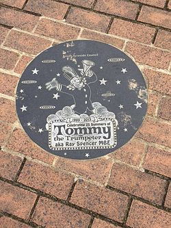 Tommy the trumpeter ray spencer plaque