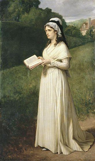 Charlotte Corday - Charlotte Corday à Caen en 1793 by Tony Robert-Fleury, Musée Bonnat-Helleu