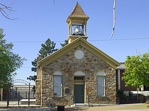 Tooele, Utah - The historic Tooele County Courthouse and Tooele City Hall