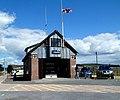 Tooltrak inside Burry Port Lifeboat Station (geograph 3602453).jpg