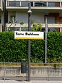 Torre Boldone tram cartello indicatore 20120712.JPG