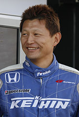 Toshihiro Kaneishi podczas Motorsport Japan 2010