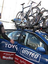 Toyota United team car.jpg