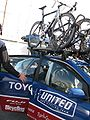 Toyota United team car.jpg