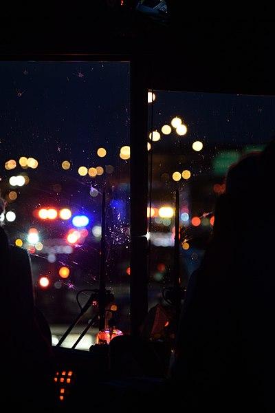 File:Traffic at Night through Bus Front Window 2017.jpg