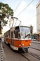 Tram in Sofia mear Macedonia place 2012 PD 006.jpg