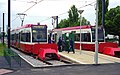 Trams, first day at New Addington - geograph.org.uk - 1660895.jpg