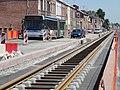 Travaux de la branche vers Vieux-Condé de la ligne B du tramway de Valenciennes en mai 2012 (117).JPG