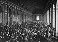 Treaty of Versailles Signing, Hall of Mirrors.jpg