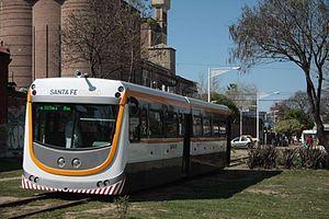 Santa Fe Urban Train - Image: Trenurbano 2