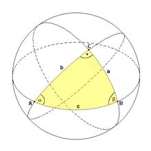 sphaerische trigonometrie wikipedia