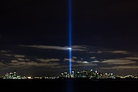 Beautiful Tribute In Light