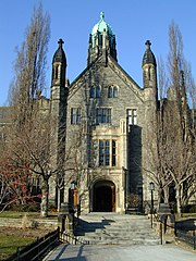 Trinity College main building in Toronto, Canada.