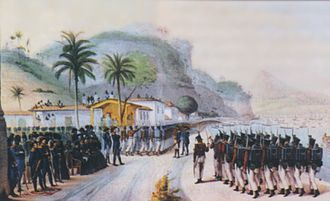 Portuguese conquest of the Banda Oriental - Portuguese Troops sent to Montevideo