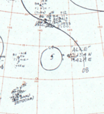 Tropical Storm Alice surface analysis 27 June 1964.png