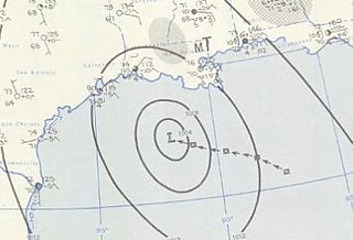 Tropical Storm Arlene (1959) Atlantic tropical storm in 1959