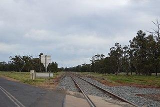 Bogan Gate–Tottenham railway line