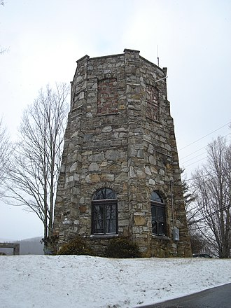 Lees–McRae College - Image: Tuft Tower