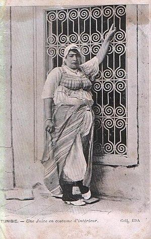 Leblouh - Image: Tunisie Femme juive 1