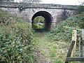 Tunnel underneath the Chesterfield to Derby Railway Line - geograph.org.uk - 565612.jpg