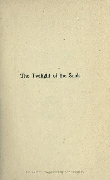 File:Twilight of the Souls (1917).djvu