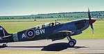 Two seater Spitfire, Imperial War Museum, Duxford, May 19th 2018. (42276026471).jpg