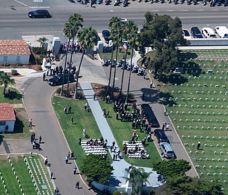 American fatalities and injuries of the 2012 Benghazi attack - Funeral services for Woods at Fort Rosecrans Cemetery in San Diego, California September 20, 2012