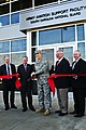 U.S. Army Maj. Gen. Lester Eisner, the deputy adjutant general of the South Carolina National Guard, cuts the ceremonial ribbon during the official opening of the newest South Carolina Army Aviation Support 140219-Z-ID851-005.jpg