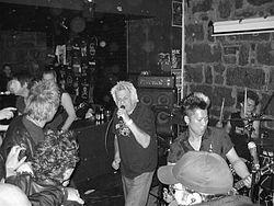 UK Subs performing in 2007