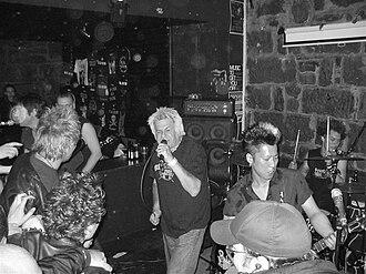 U.K. Subs - UK Subs performing in 2007