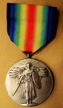 World War I Victory Medal (United States) - Wikipedia