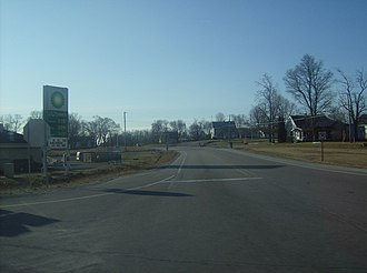 U.S. Route 224 - US 224 at its intersection with State Road 5 south
