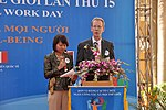 USAID Mission Director Joakim Parker speaks at the Social Work Day event in Hanoi (8168691145).jpg