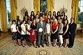 USC women's soccer team at the White House 2008-06-24.jpg
