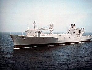 SS Bellatrix (T-AKR-288) - Image: USNS Bellatrix (T AKR 288)