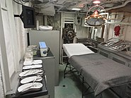 USS Cassin Young operating room