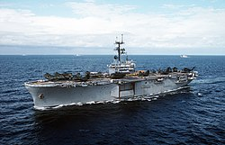 USS Inchon (LPH-12) during exercise Northern Wedding 1986.jpg