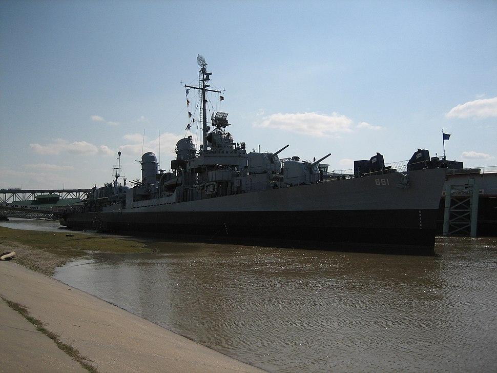 USS Kidd (DD-661) Baton Rouge