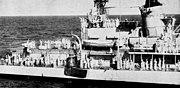 USS Noa (DD-841) hoists Friendship 7 capsule aboard 1962