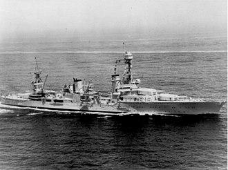 USS Northampton (CA-26) - Image: USS Northhampton (CA 26) August 23 1935