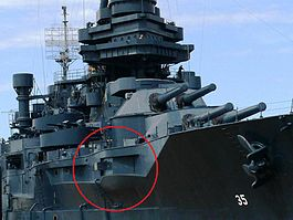 USS Texas BB-35 aircastle