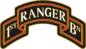 1st Ranger Battalion Combat Service Identification Badge (CSIB)