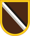 The Warrant Officer Career College shoulder sleeve insignia was authorized for wear in 2008