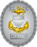 US Coast Guard command master chief petty officer Identification Badge.png