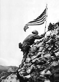 U.S. flag raised over Shuri castle