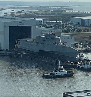 USS <i>Mobile</i> (LCS-26) Littoral combat ship of the United States Navy
