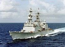 US Navy 010618-N-6626D-002 USS Hayler (DD 997) underway.jpg