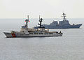 US Navy 100712-N-3446M-176 Ships conduct gunfire exercise during CARAT 2010.jpg